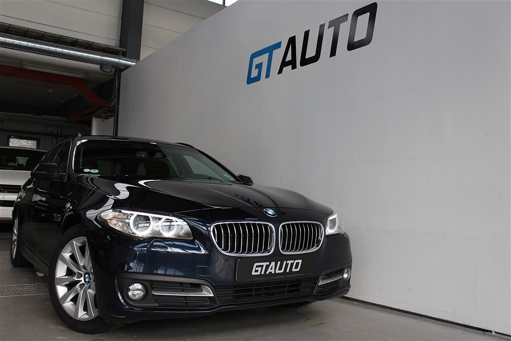 BMW 520 d XDRIVE TOURING EURO 6 PDC HEMLEVERANS