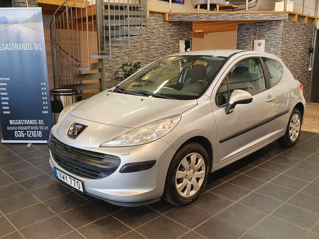 Peugeot 207 3-dörrar 1.4 88hk (0 ränta 36 mån)