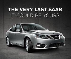 Nu säljs sista tillverkade Saaben någonsin