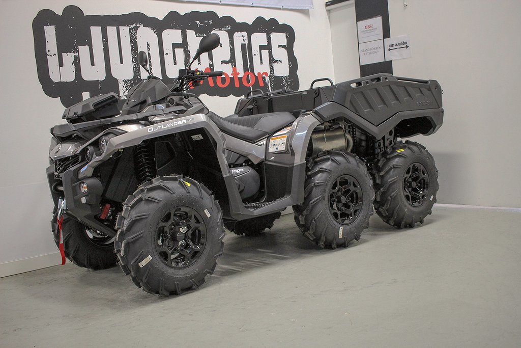 Can-Am Outlander 6x6 1000 PRO+ 2020