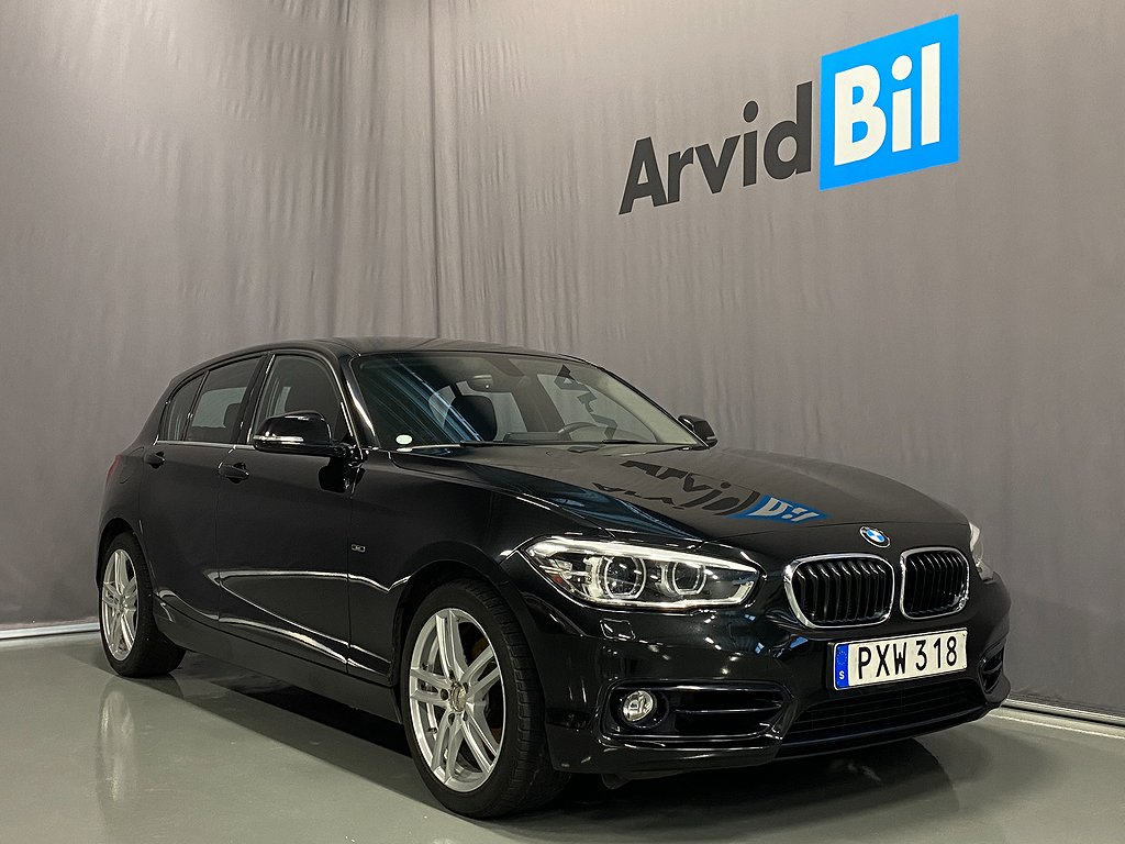 BMW 118 d xDrive 5-door Sport line Euro 6 150hk