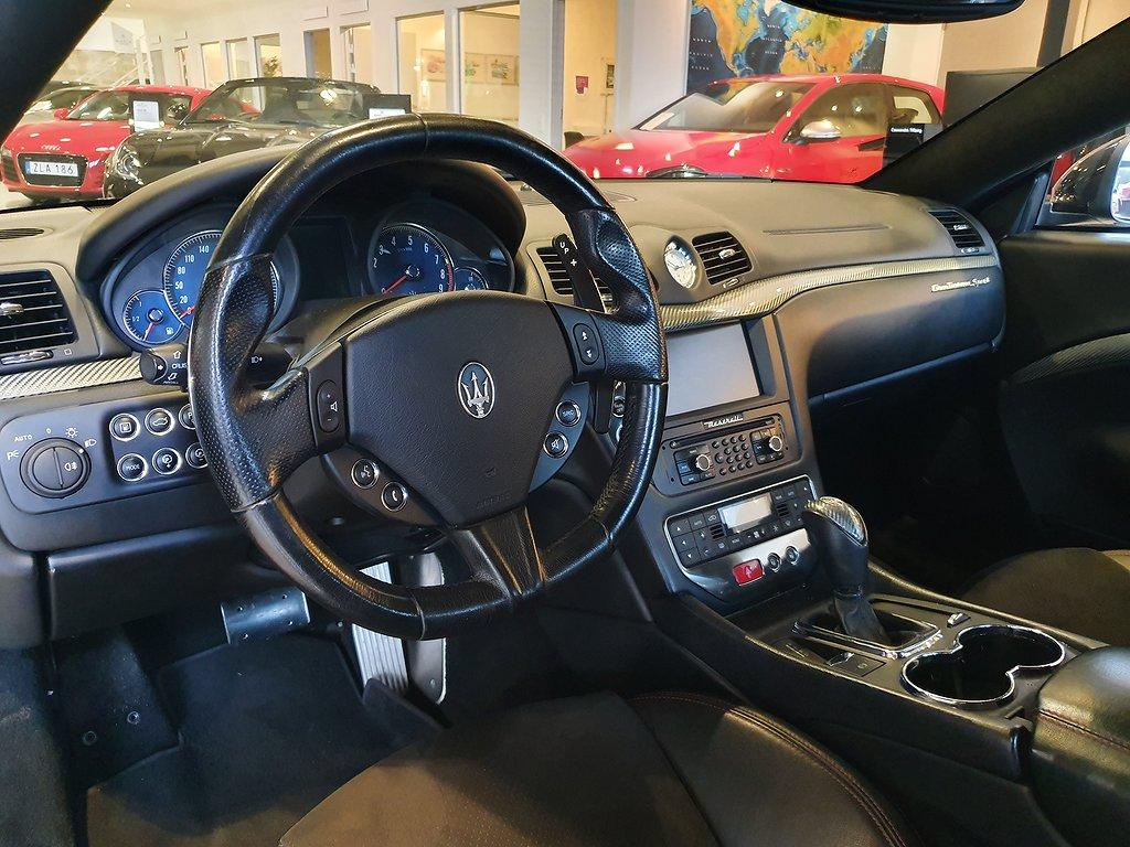 Maserati GranTurismo Sport 4.7 V8 460hk
