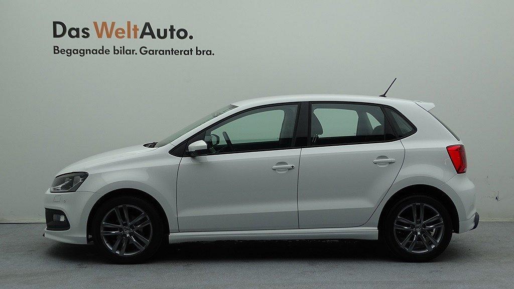 Volkswagen Polo TSI 90/R-Line/P-sensorer fram & bak/Farthållare