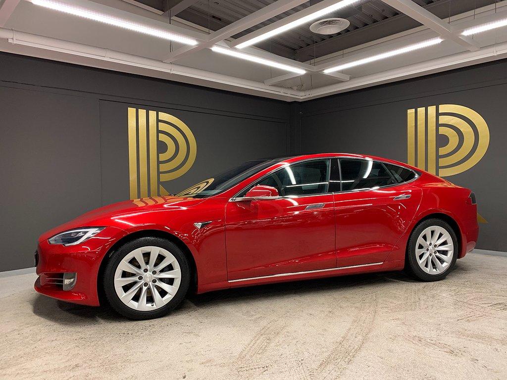 Tesla Model S 75D Panorama Autopilot Luftfjädring 333hk