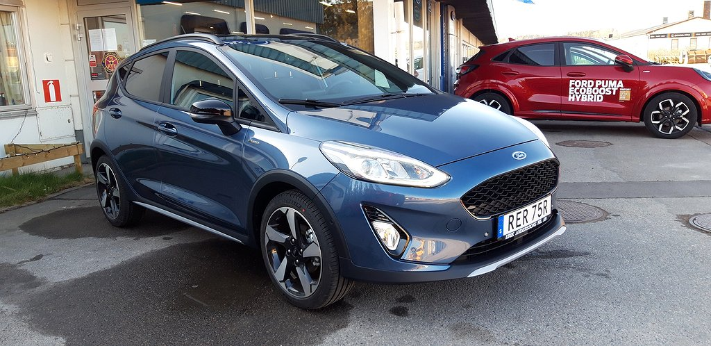 Ford Fiesta Active 1.0T EcoBoost 95hk