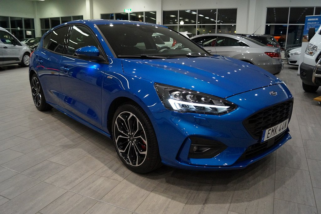 Ford Focus ST-Line 1.0T EcoBoost 125hk 8vxl Aut Limited Editon**DEMO*