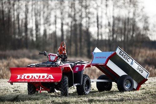 """Övrigt Honda Basic 500 """"Smidig tippbar vagn"""""""
