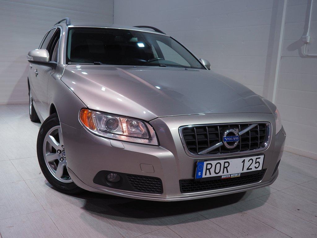 Volvo V70 1.6D DRIVe Momentum 109hk Dragkrok Xenon 2011