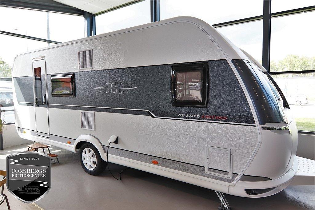 Hobby 560 KMFe De Luxe Edition / Våningssängar / Familjevagn