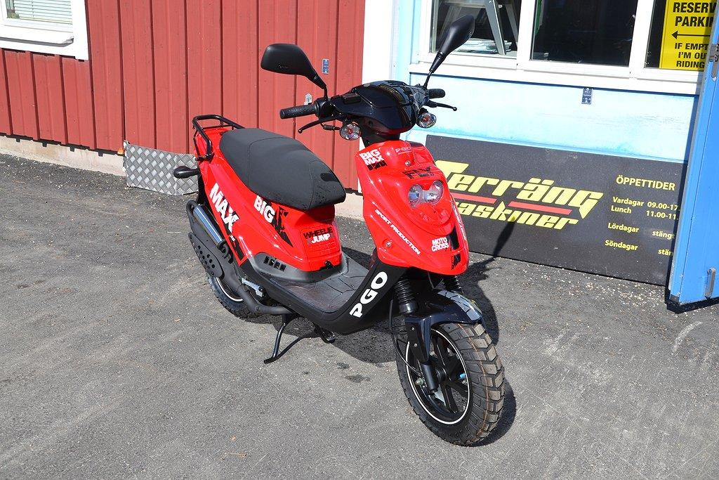 PGO Big Max SP 25/kmh moped 0kr kontant