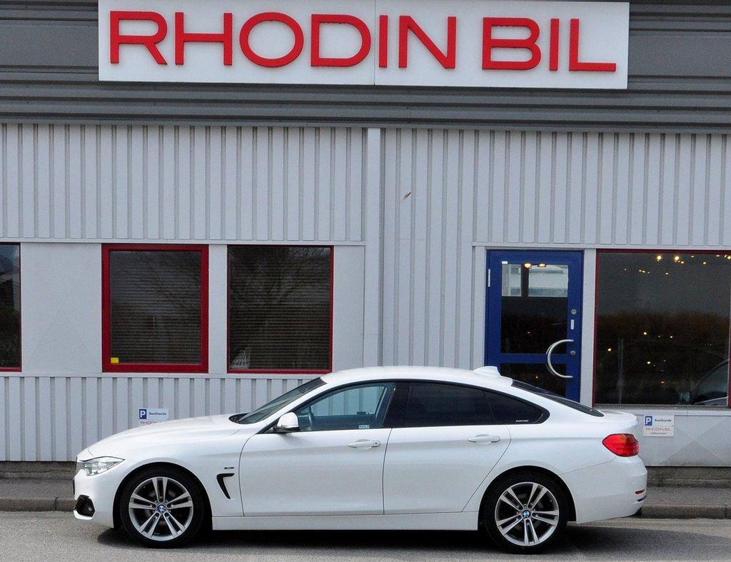 BMW 418 Gran Coupé Sportline Automat Bränslevärmare