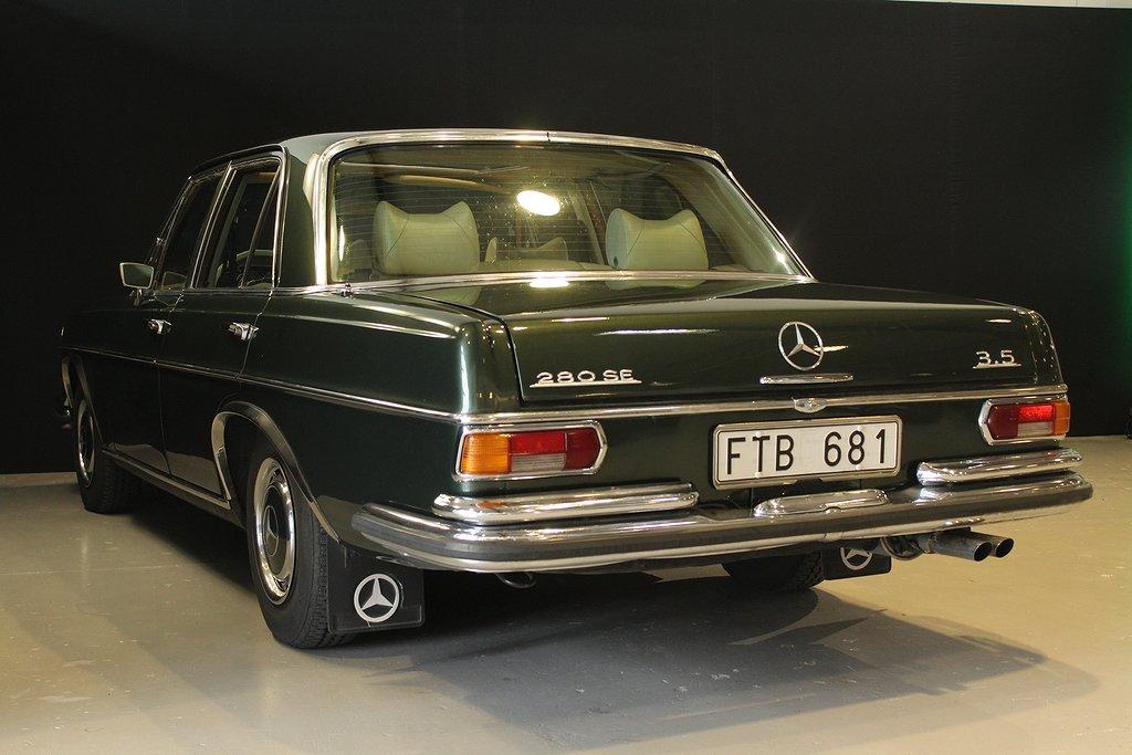 Mercedes-Benz 280 SE 3.5 Automat / Svensksåld