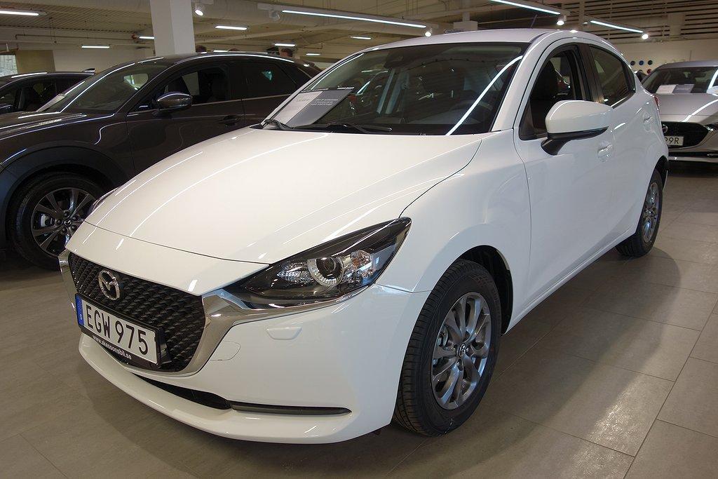 Mazda 2 5dr M5 1.5 Core 90 hk MILDHYBRID