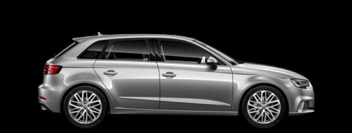 Modellbild av en Audi A3 Sportback
