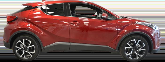 Modellbild av en Toyota C-HR