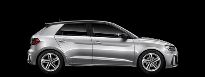 Modellbild av en Audi A1
