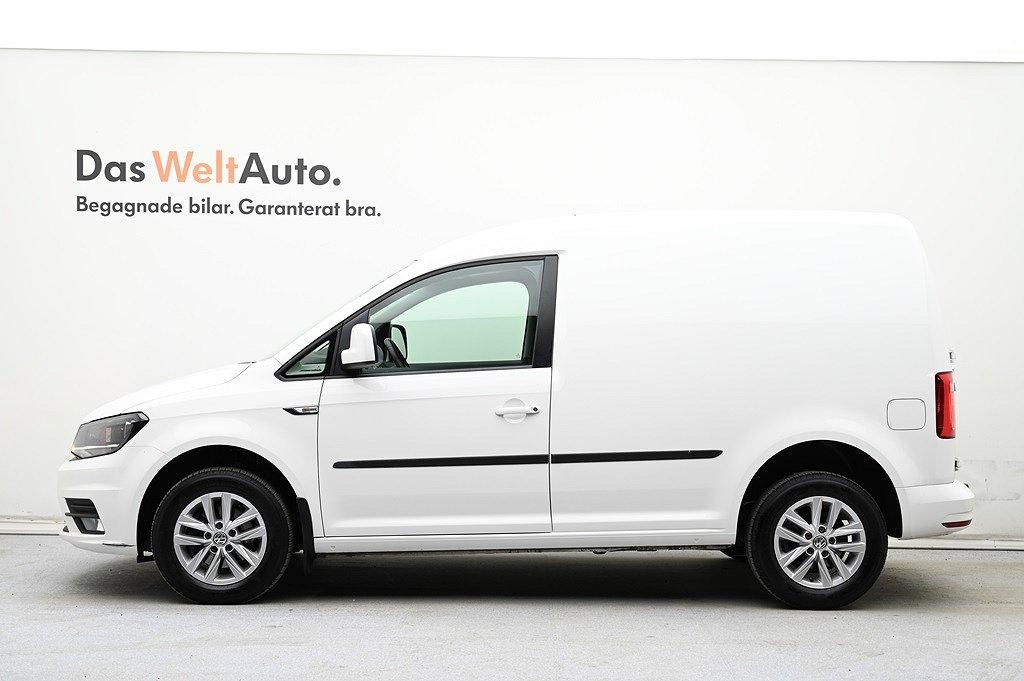 Volkswagen Caddy Skåpbil TDI75 Komfort/Drag/P-värmare