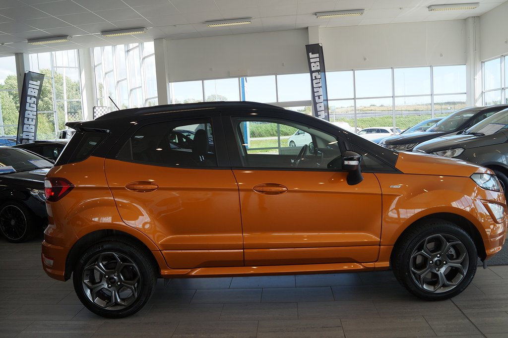 Ford Ecosport 1.0 EcoBoost Euro 6 125hk ST-Line, Mkt utr