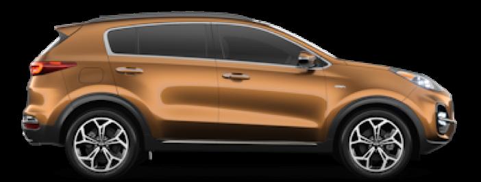 Modellbild av en Kia Sportage
