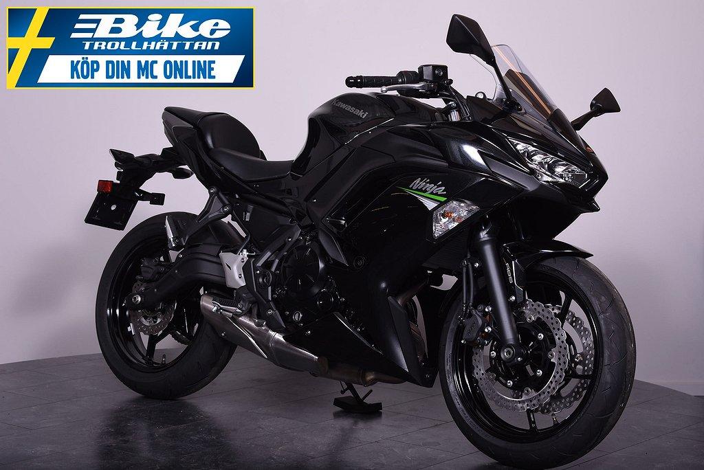 Kawasaki Ninja 650 5 års non-stop garanti!