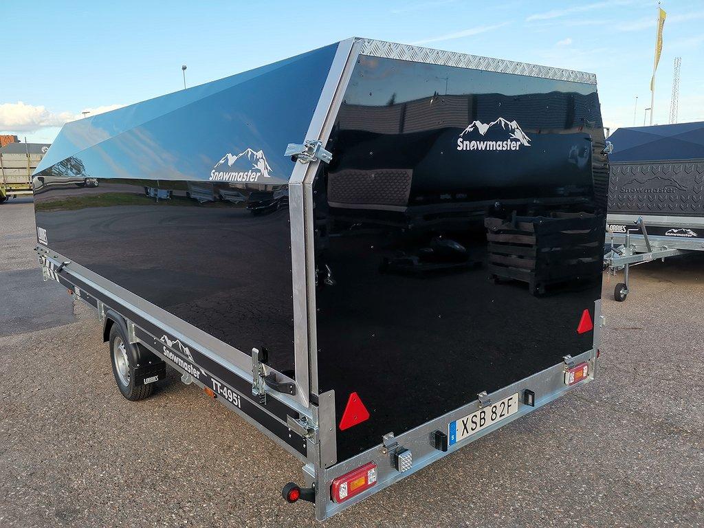 Lorries SNOWMASTER 495 i Hel bakgavel kampanj 495x190cm