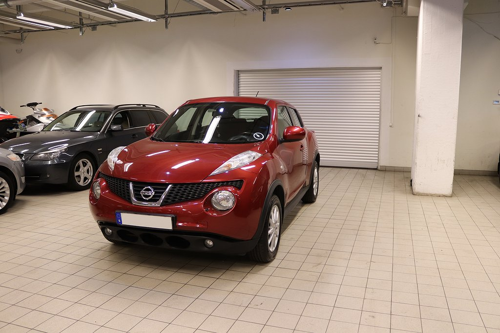 Nissan Juke 1.6 XTRONIC AUTO NAVI BLUETOOTH KAMKEDJA