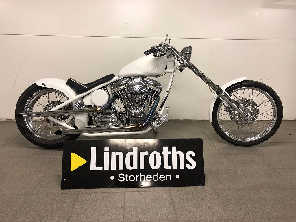 Harley-Davidson Stelben Chopper Bygge Moheda