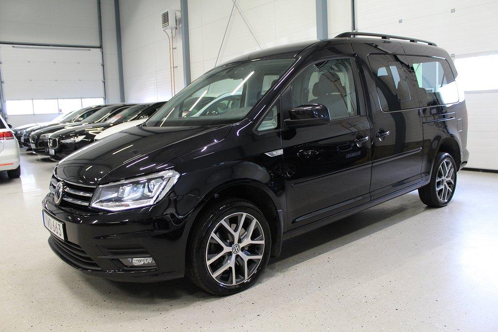 Volkswagen Caddy Maxi Life 2.0 TDI 7-SITS 4M DSG Eu6  150hk