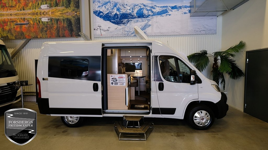 Bürstner City Car 540 Van / Plåtis / Under 6 meter - ORDER TECKNAD UNDER