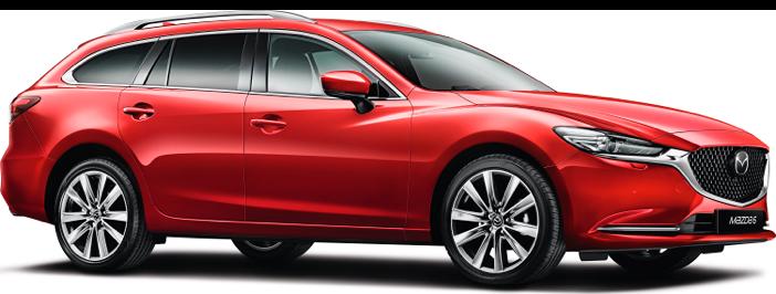 Modellbild av en Mazda 6 Wagon