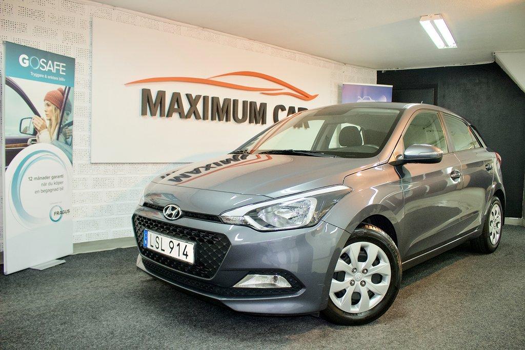 Hyundai i20 1.4 Automat Euro6 (101hk) 2800mil