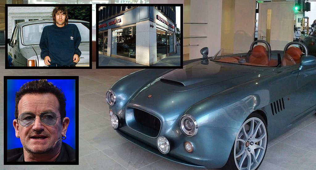 Bristol Cars Showroom i London