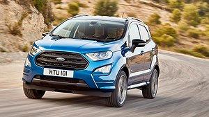 Ford ansiktslyfter EcoSport