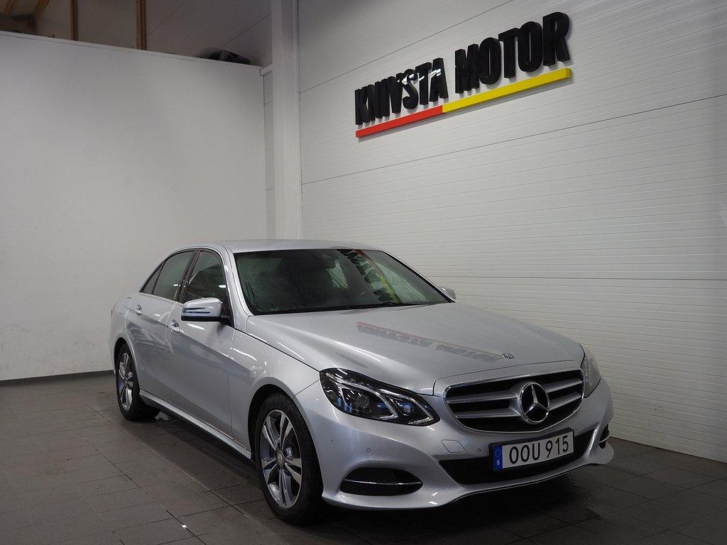 Mercedes-Benz E 200 Automat Plus Euro 6 184hk (GPS) 2014