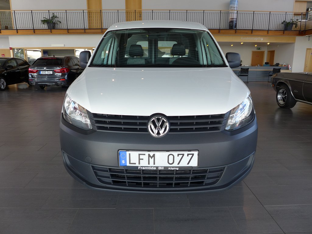 Volkswagen Caddy Panel Van 1.2 TSI/Drag/Vinterhjul/AC/Bränslevärmare/86hk