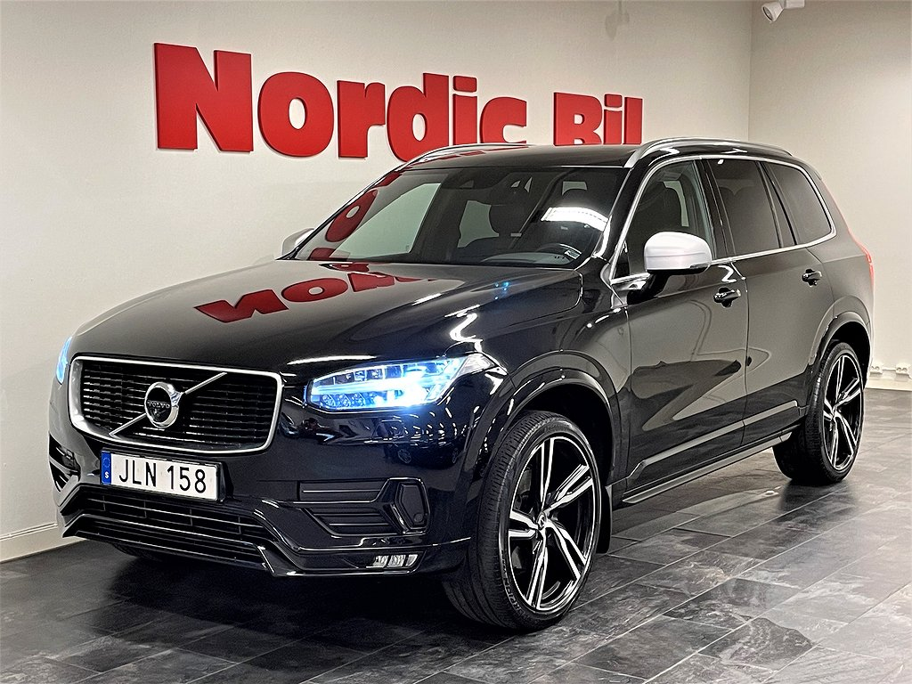 Volvo XC90 D4 AWD Geartronic R-Design Euro 6 7-sits 190hk
