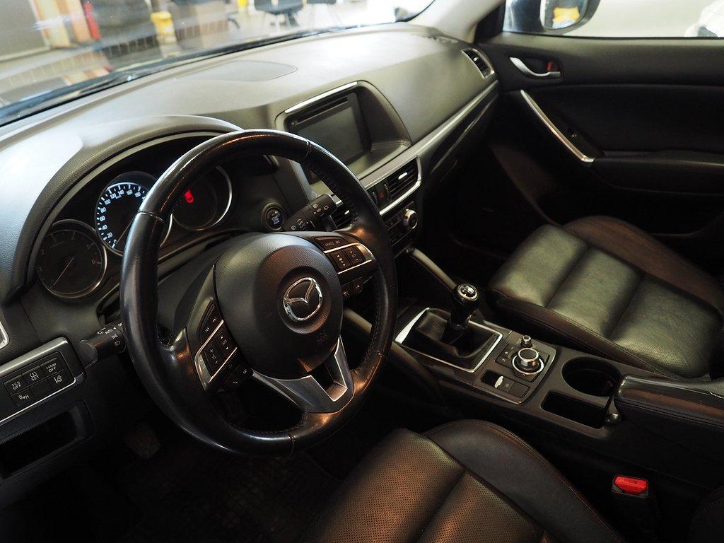 Mazda CX-5 2.2 Optimum AWD Euro 6 175hk (M-värmare, Drag) 2015