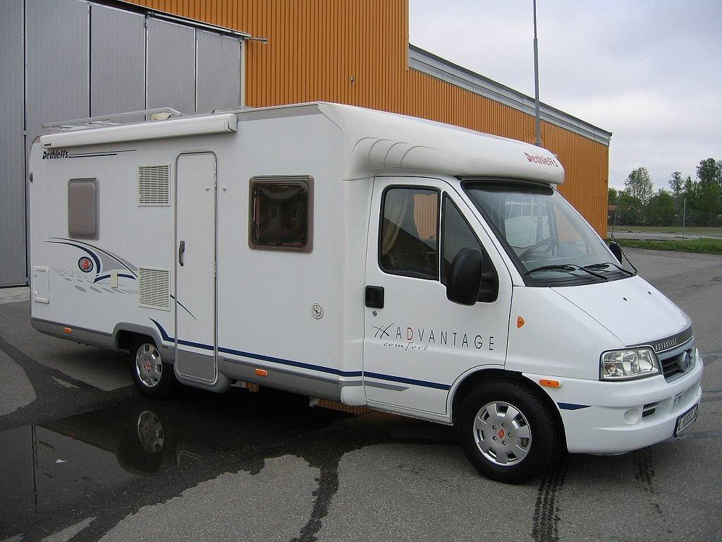 """Dethleffs T 6501 """"Dubbelsäng"""" Vinterpkt ALDE"""