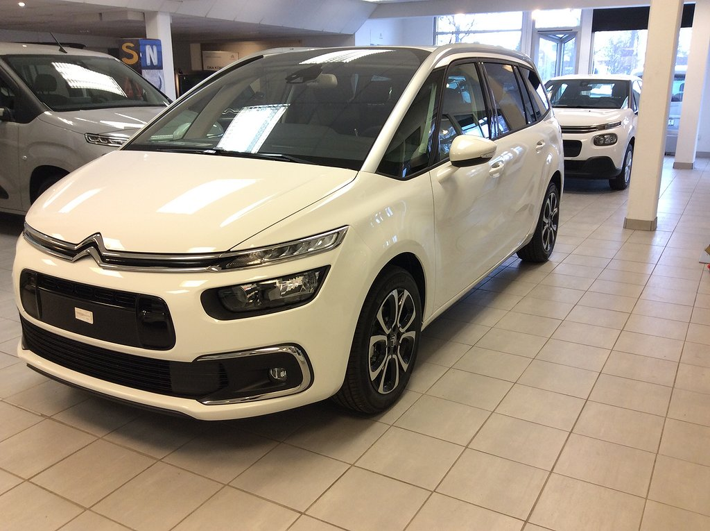 Citroën C4 Grand SpaceTourer  EAT  7-sits 130hk SHINE NY