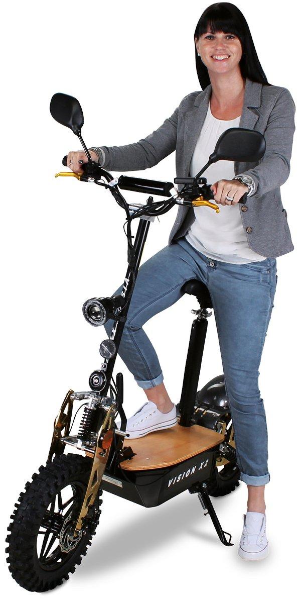 Övrigt EL-Scooter / EU-moped 2000W VisionX2