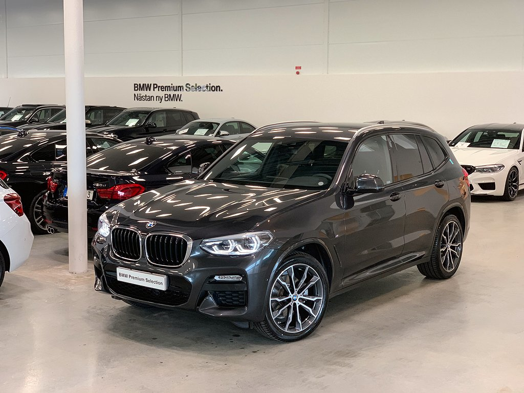 BMW X3 20d / xDrive / M-sport / Navi / Drag / HIFI