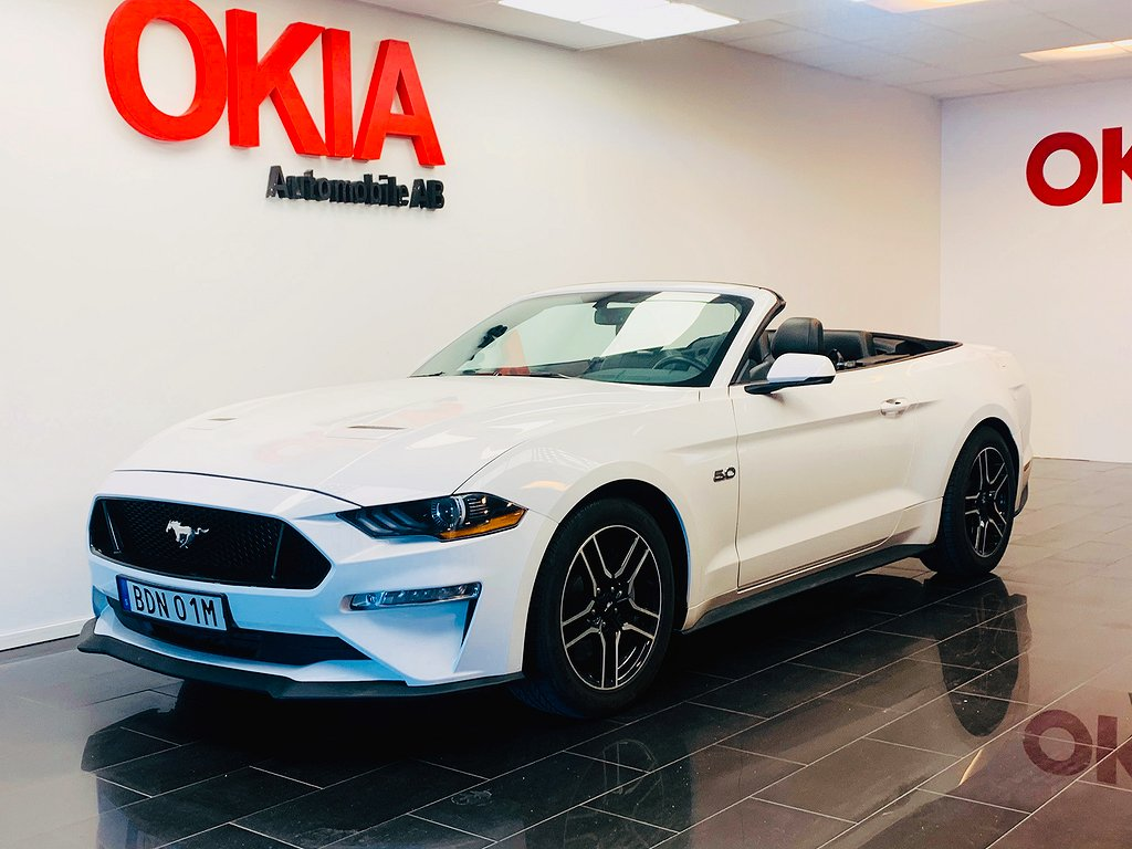 Ford Mustang GT Convertible 5.0 V8 Automat 450hk
