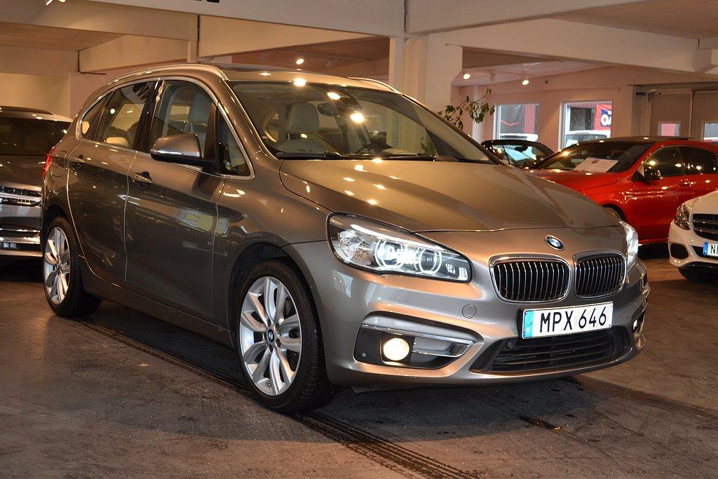 BMW 218 i Aut Luxury Line Backka Panoramaglastak