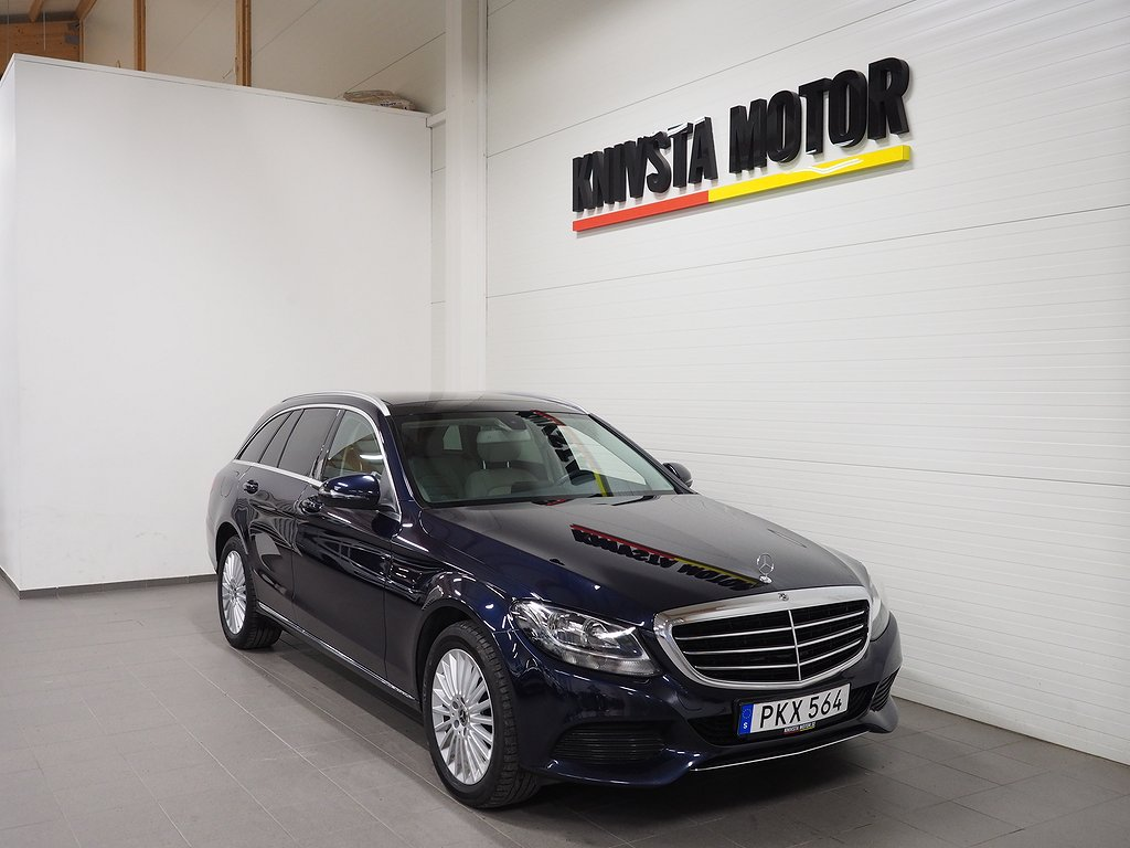 Mercedes-Benz C 200 T 4MATIC 184hk GPS backkamera 2017