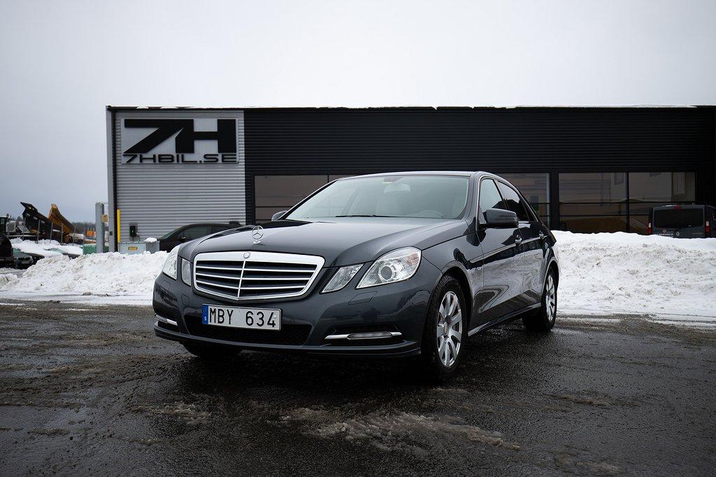 Mercedes-Benz E 200 BlueEFFICIENCY Classic / Svensksåld