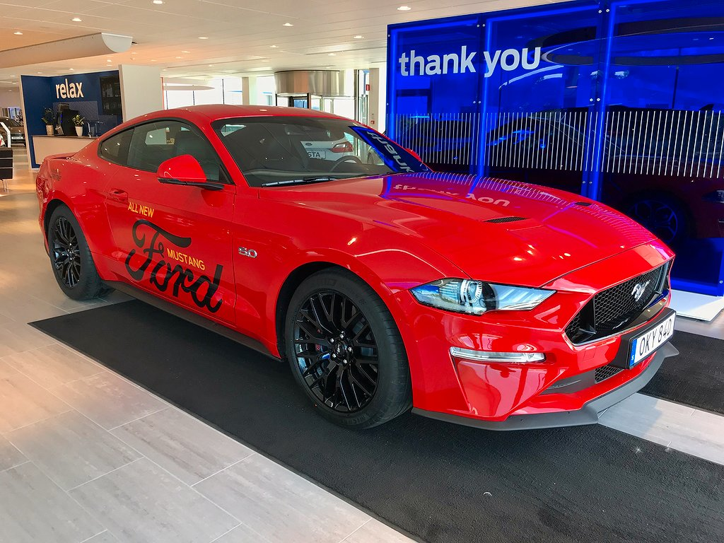 Ford Mustang GT 5.0 V8 (451hp) Fastback -Aut