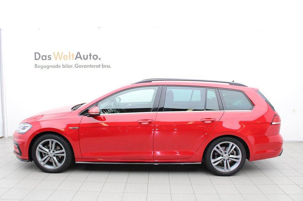 Volkswagen Golf Sportscombi 1.5 TSI 150 HK MAN/R-Line/PDC/Drag/Klima