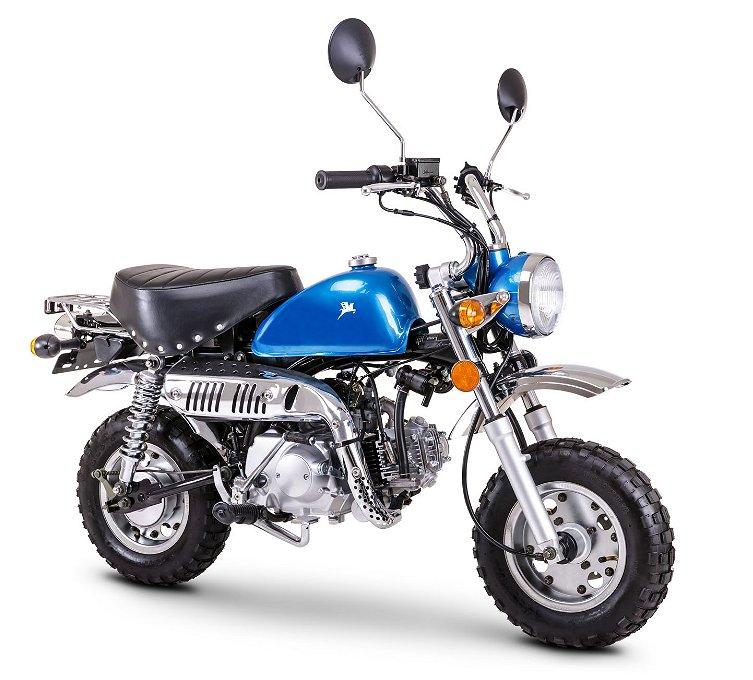Övrigt Moped Klass 1, Monkeybike, 50cc, blå