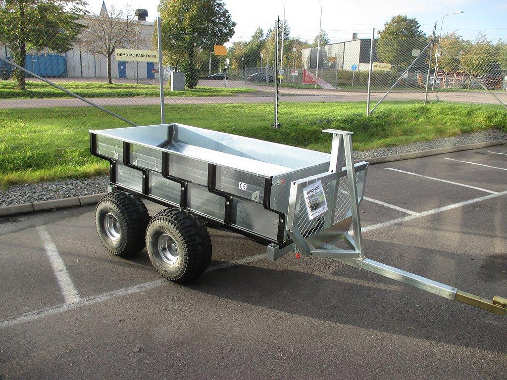 Övrigt Timmervagn med flak från DBC, Bronco, ELiT MC Göteborg