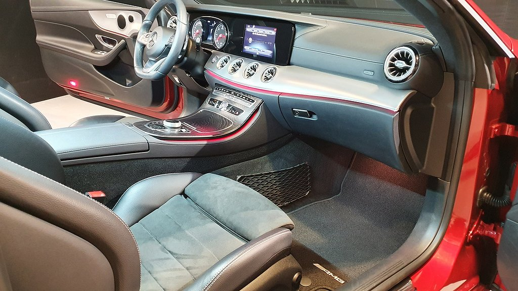 Mercedes-Benz E 220 d Coupé AMG Sport 194hk